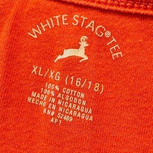 White Stag Tops - WHITE STAG ORANGE TANK XL | 118